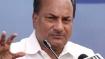 Congress leader AK Antony's driver commits suicide