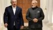 Netanyahu receives ceremonial reception at Rashtrapati Bhawan in Delhi
