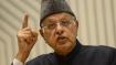 'Jinnah did not want separate country for Muslims', says Farooq Abdullah