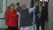 Berlin: Narendra Modi meets Germany Chancellor Angela Merkel