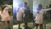 Hyderabad: Woman argues with cops, pelt stones at media after friend held for drunk driving