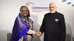 Modi holds bilateral talks with Hasina, 10 others on CHOGM sidelines