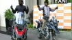 Hyderabad's father-son duo to embark on a 17,000 km motorcycle ride to spread peace, happiness