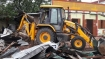 Tripura govt starts demolishing illegal offices of political parties
