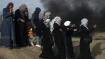 Palestinian publicly sets himself on fire in Gaza