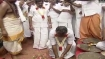 EPS-OPS lay foundation stone for Jayalalithaa's memorial