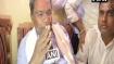 My last election says Siddaramaiah