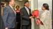 Seychelles President arrives in India amid breakdown in naval base plan