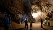Salt cave near Dead Sea is the world's longest