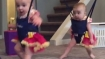 Just months old, these twins are doing something that will leave even experts stunned