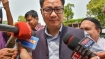 Union minister for state Kiren Rijiju said financial security is as important as National security