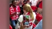 This couple did something extra-ordinary in stands during a World Cup game in Moscow