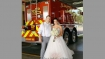Firefighter leaves own wedding midway to douse fire; bride says it's fine