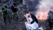 Wedding photo-shoot themed on Congo civil war leaves social media aghast
