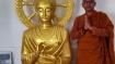 'Peace creates Unity', monk's reason for Buddha statue in Gujarat