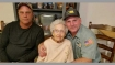 California fires: Garbage truck driver picks up 93-year-old woman from danger