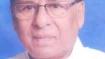 Former Rajya Sabha MP Baishnab Charan Parida passes away at 77