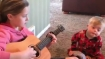 Touching: Big sister sings 'You Are My Sunshine' to little brother with Down Syndrome