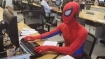 Man dresses up as Spider Man on final day in office, leaves co-workers, Twitterati stunned