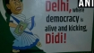 Ahead of Opposition rally, posters slamming Mamata come up in Delhi