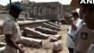 Miscreants damage pillars at Hampi, a UNESCO World Heritage Site