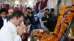 Rahul, Priyanka meet Pulwama martyr's families, recall Rajiv Gandhi's assassination