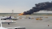At least 40 killed after Russian plane on fire makes emergency landing in Moscow