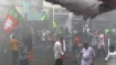 TMC- BJP fracas, BJP workers holding march in Kolkata lathi-charged
