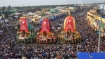 Rath Yatra: Complete shutdown in Puri from 9 pm till 2 pm tomorrow
