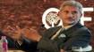BJP fields Jaishankar for Gujarat RS seat after he formally joins party