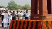 Rajnath Singh visits War Memorial before formally taking over defence ministry