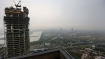 A cool cloudy morning in Delhi, light rains expected