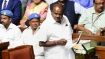 """""""Ready to quit happily"""": Kumaraswamy in an emotional speech in assembly"""
