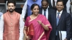 Carried red cloth bag as a message: Sitharaman