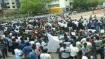 Delhi: Haryana brick kiln workers stage protest