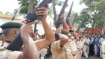 Watch: Police rifles fail to fire at gun salute to former Bihar CM Jagannath Mishra