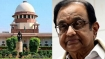 SC to hear Chidambaram's plea challenging rejection of anticipatory bail today