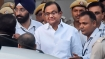 Chidambaram continued to stand during court proceedings, despitebeing asked to sit