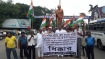 WB Cong workers hit streets in protest against Chidambaram's arrest