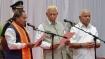 Karnataka cabinet expansion: Ex-CM Shettar among 17 MLAs sworn in as minister
