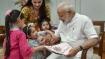Rakshabandhan fervour at 7 RCR; Women, children, PM's Pak-origin sister tie Rakhi