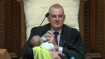 New Zealand parliament speaker feeds baby during debate, wins heart