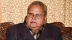 Satya Pal Malik transferred, appointed Governor of Meghalaya