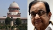 SC to hear Chidambaram's plea challenging denial of anticipatory bail