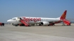 Spicejet crew falls down during push-back in Mangaluru airport