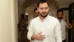 Tejashwi trains guns at JD(U) leader for police officer's use of MLC's car
