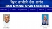 BTSC Bihar recruitment: BTSC Specialist, General Medical Officer openings; 6437 BTSC vacancies