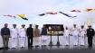 Rajnath Singh commissions the 2nd Kalvari-class Submarine INS Khanderi