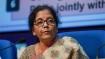 Nirmala Sitharaman addresses media amid economic slowdown