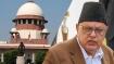 SC seeks details on Farooq Abdullah. Wants response by Sep 30